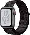 Apple - Apple Watch Nike+ Series 4 (GPS + Cellular), 40mm Space Gray Aluminum Case with Anthracite/Black Nike Sport Loop - Space Gray Aluminum-6139641